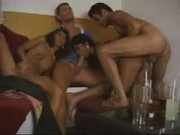 Hot indian bitch fucking with threesome