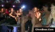 Ordinary babes enjoy wild cfnm party at cfnm club