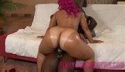 2 shiny big black ass