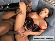 Awesome Babe Alexis Silver Taking A Black Dudes Cock In Her