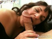 Hot mom sucking young dick