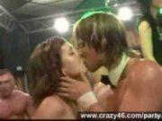 Chicks in hardcore sex orgy