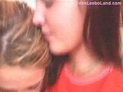 Teen pussy eating lesbos