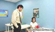 Schoolgirl ruby gets fucked in science class
