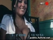 Public Cafe Blowjob