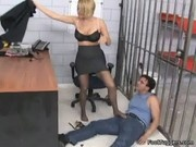 Krissy Lynn - Footjob Sessions In Jail