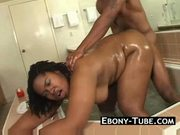 Thick black honey gets fucked