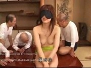 Girl Tricked into Group Sex with a Bunch of Old Men Part 1