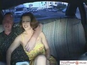 Britney Spears Lookalike Fucks In A Cab
