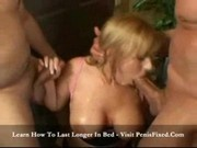 Busty Blonde Blowjob Exam