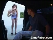 Lovely MILF Eve at Limo Patrol
