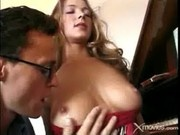 Blonde Whore Rides A Cock And Gets A Facial