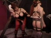 Lesbian Breast Punishment