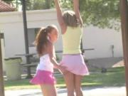 Ashley and Brianna at the Park