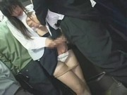 Young Girl groped in Train