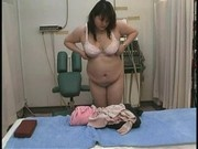 Japanese BBW Woman Dressing