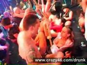 Huge night club sex orgy
