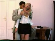 Blonde school girl fucked