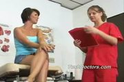 Melissa gets her annual gyno rectal exam