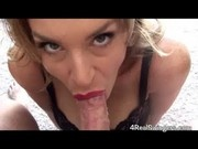 Red Lipstick No Hands Blowjob