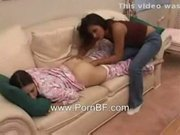 Sleeping girl fuck with her friend