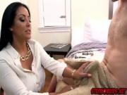 Kiara Mia and Ariana Marie fucking off a huge meaty cock