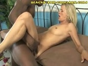 Deep Interracial Dicking