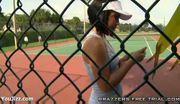 Kristina rose seduces tennis guy