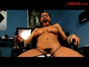 Girl Mouthgag Tied To Chair Getting Her Pussy Stimulated With Vibrator Having Orgasm