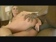 Anal Interracial with a blonde