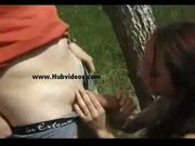 Shaina la french arab beurette in forest - anal sex video
