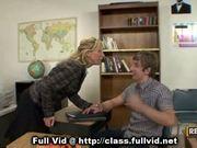 Milf teacher eaten out
