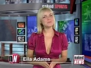 Naked News Eila Adams sexy