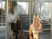 Shawna Lee fucks Sean Michaels on the Bus