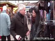 StreetFlirtscom amateur porn casting