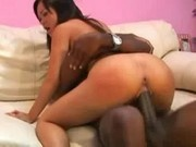 Asian Doll Kammy Gets Fucked By A Big Black Cock