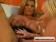 Lesbians Ashton Moore and Kristal Summers Use Toys For Their