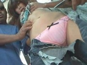 Young Woman abused in a Bus Part 1
