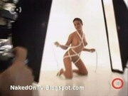 sexy euro amateur girls posing naked on TV