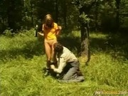 Teen Gets Stretched To The Hilt