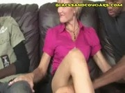 Blonde Milf Black Cock Sucking