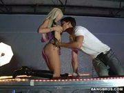 Famous porn star kenzi marie rocking hard