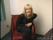 Horny Mature Blonde Getting Down Nasty