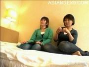 Yuu Japanese AV Models Are Fondling Each Other