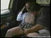 Step Brother and Sister Fuck in Limo