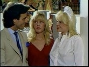 Classic blonde star Danielle Rodgers and Sandra Nova in feti