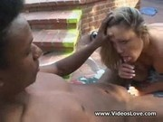Tourist Resort Fuck - white chick loves black dick