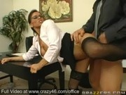 Big Titted Secretary gets fucked in Office