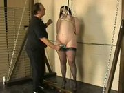 Amateur tit hanging torment and extreme breast bondage of ch