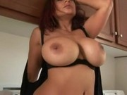 Sexy housewife with hugetits hardly fucked